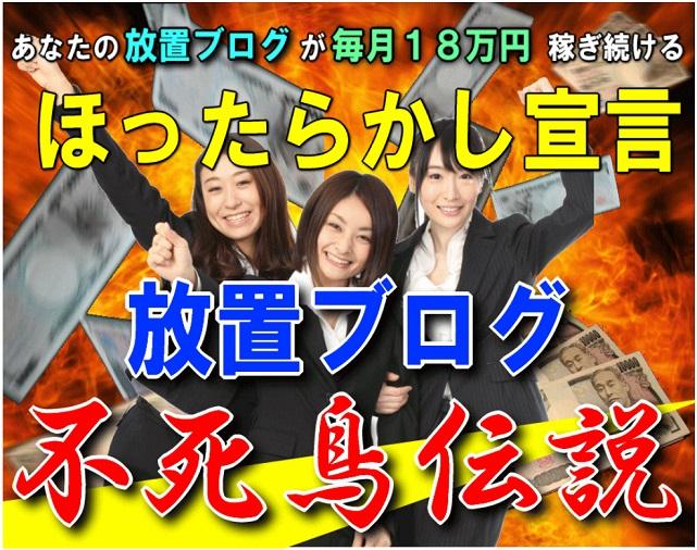 あなたのブログが毎月18万円稼ぎ続ける!ほったらかし宣言!小野光範